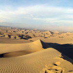 Sandboarding and a dune buggy ride in Huacachina Peru