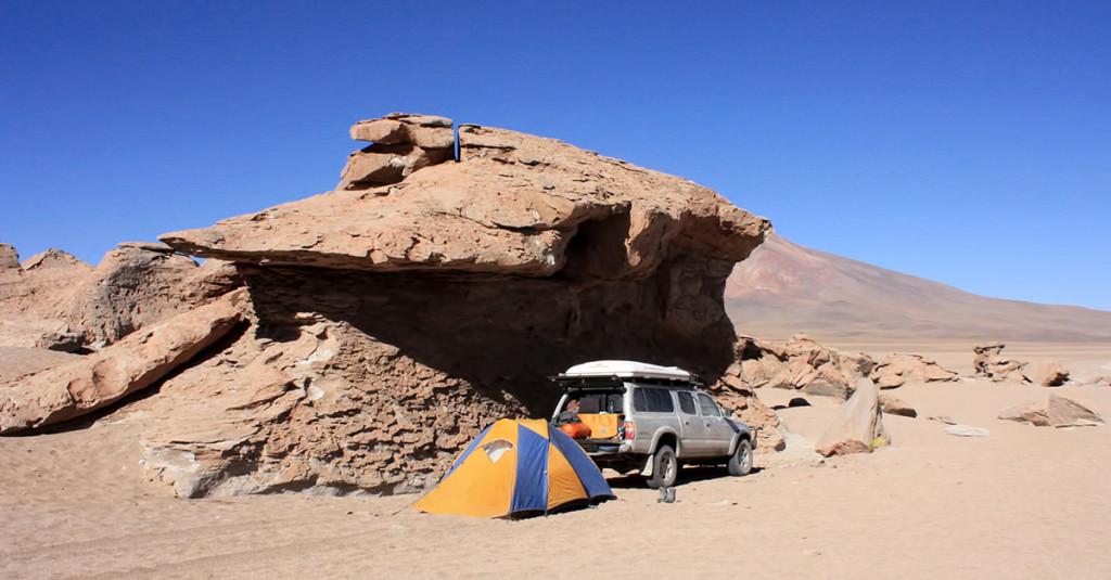 Camping spot #7 - Arbol de Piedra