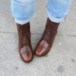 A proper shoe shine